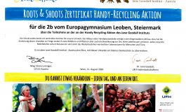 Handy Recycling Aktion 2bKlasse